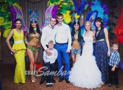 Фото с гостями на свадьбе